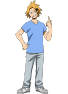 Denki con Ropa Casual en el Anime