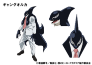 Gang Orca TV Animation Design Sheet