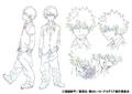 Katsuki Bakugo Shading TV Animation Design Sheet