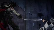 Stain threatens Tenya