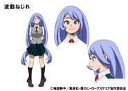 Nejire Hado TV Animation Design Sheet
