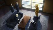 Yokumiru Mera meets Nezu and Toshinori