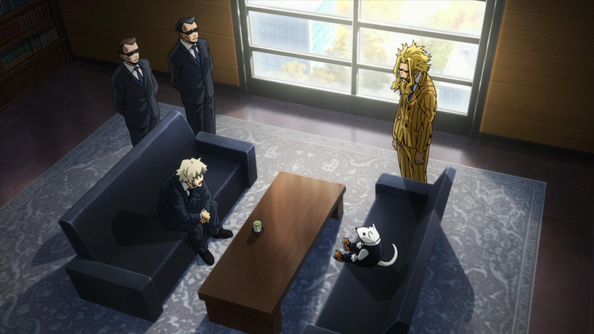Yokumiru Mera meets Nezu and Toshinori.png
