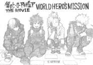 World Heroes' Mission Main Group Sketch
