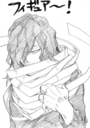 Eraser Head Thank You Horikoshi sketch