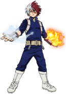 Shoto Todoroki Action 2
