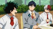 Tenya and Shoto worried about Izuku