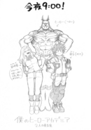 World Heroes' Mission Promotional Sketch