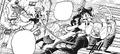 Ochaco and Tsuyu rescue some civilians