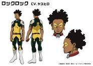 Ken Takagi TV Animation Design Sheet
