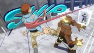Kosei Tsuburaba is caught by Tsuyu