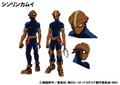 Kamui Woods TV Animation Design Sheet