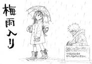 Boceto Bakugo X Tsuyu