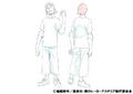 Hanta Sero Casual Shading TV Animation Design Sheet
