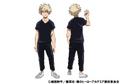 Katsuki Bakugo Casual TV Animation Design Sheet