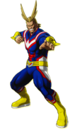 All Might One Justice Design