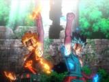 Izuku Midoriya & Katsuki Bakugo vs. Nine: Rematch