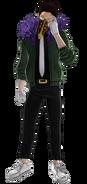 Diseño de Kai en My Hero One's Justice 2