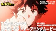 『僕のヒーローアカデミア』 ヒロアカ TVアニメ第4期ノンクレジットOPムービー/OPテーマ:「ポラリス」BLUE ENCOUNT/ブルエン/ヒーローインターン編