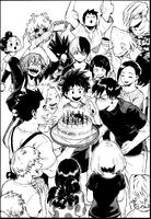 Cumpleaños de Tenya Iida - 3era novela ligera