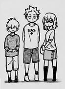 The Todoroki children