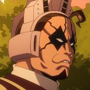 Tiger Anime Headshot