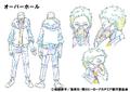 Kai Chisaki Shading TV Animation Design Sheet