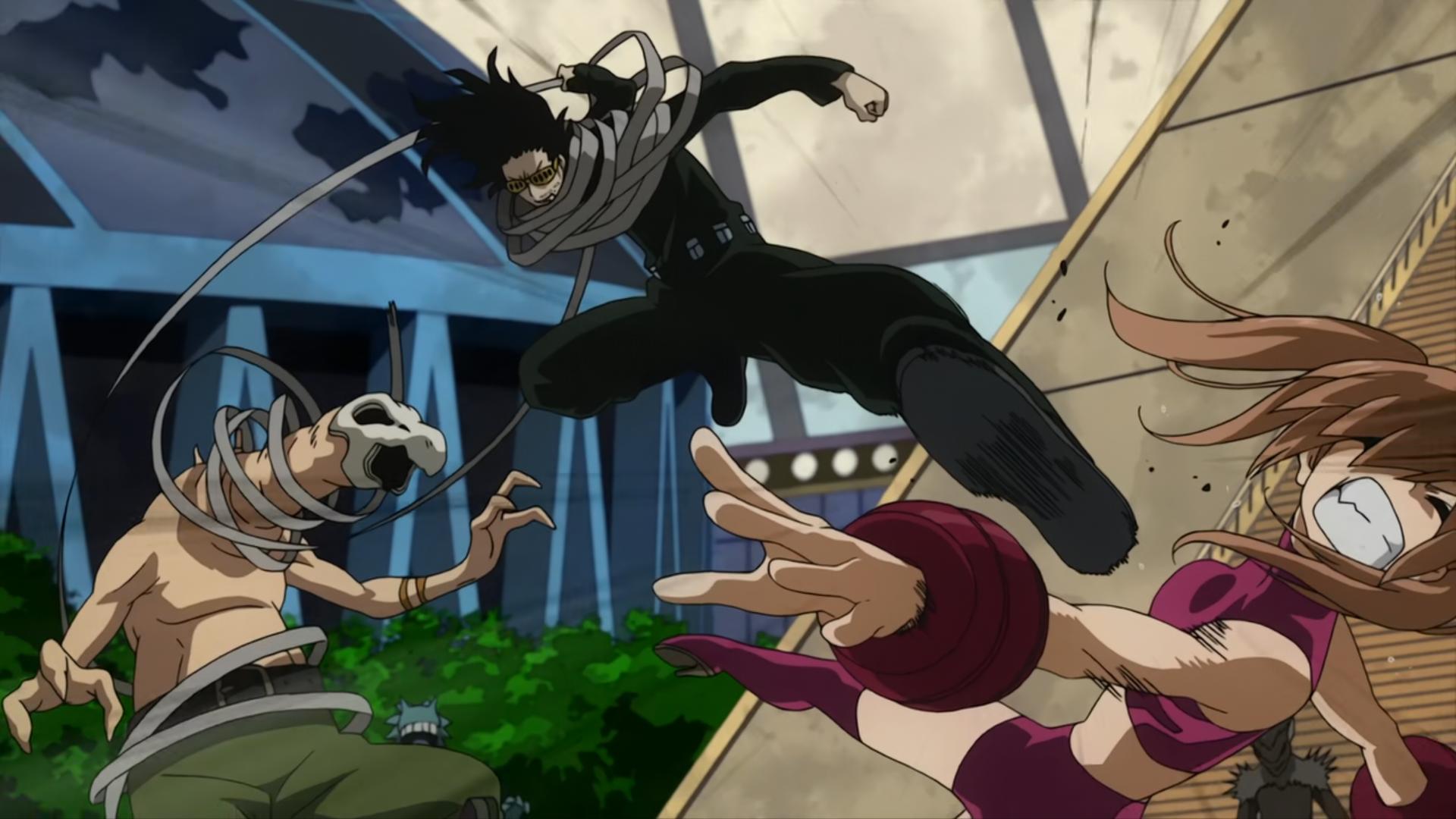 Shota Aizawa vs. Villains
