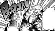 Katsuki blows up the table