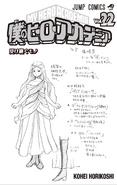 Volume 22 Ibara Shiozaki Sketch