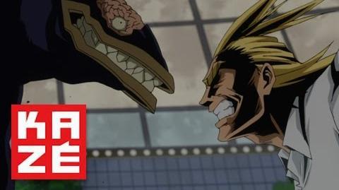 My Hero Academia (Boku no Hero Academia) - All Might vs Brainless