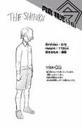 Volume 12 Seiji Shishikura Profile