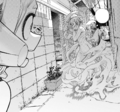 Himiko sheds her disguise in front of Ochaco