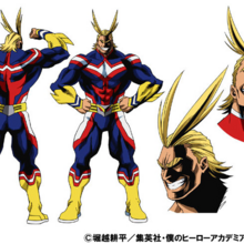 All Might TV Animation Design Sheet.png