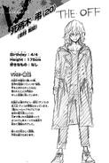Volume 23 Tomura Shigaraki Profile