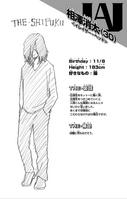 Shota Aizawa perfil Vol1