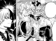 Endeavor embraces his son