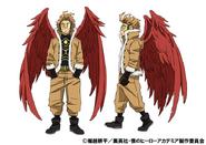 Hawks Anime Concept Art 2