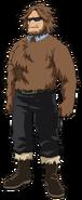 Jurota Shishida Hero Costume (Anime)
