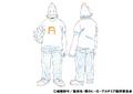 Koji Koda Casual Shading TV Animation Design Sheet