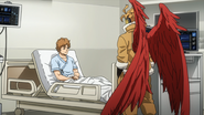 Hawks questions Mr. Shimano