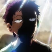 Kai Chisaki de niño (Anime)