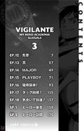 Volume 3 (Vigilantes) Table of Contents