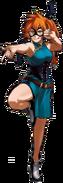 Itsuka Kendo traje de héroe manga