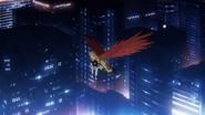 Hawks flies with Fumikage