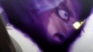 La cara de Kurogiri se convierte en la de Oboro