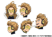 Hawks Anime Concept Art 1