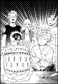 Neito gets electrocuted by the Batsu Pop-up Pirate game