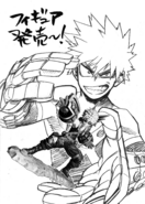 Katsuki Bakugo Figure Reveal Sketch