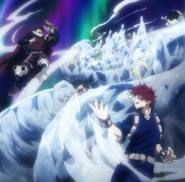 Shoto and Inasa win the hearts of the children